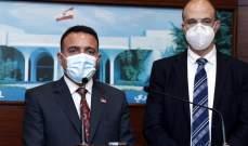 التميمي من بعبدا: هناك توجه حكومي عراقي لدعم لبنان على المستويات كافة وأولها المجال الصحي