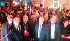 خضر خلال اضاءة شجرة دير الأحمر: لا يعتبر العيد بمفهومه إذا لم تكن القدس بسلام
