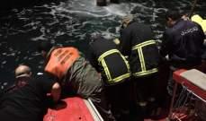وحدة الانقاذ البحري حاصرت بقعة التلوث النفطية المحيطة بمعمل الزوق