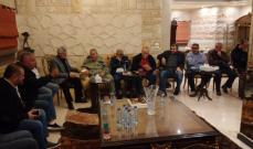 """لقاء بين أسامة سعد ومسؤولين في """"حزب الله"""" وحركة """"أمل"""" في صيدا"""