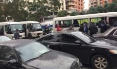 MTV: أكثر من 15 باصاً انطلق من ساحة النور باتجاه وسط بيروت