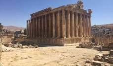 قلعة بعلبك تضم المعابد الفينيقية الأكبر على الإطلاق