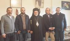 وزير الثقافة مستقبلا المطران أبرص: السياحة الدينية نفط لبنان