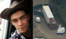 مثول سائق الشاحنة التي عُثر فيها على 39 جثة أمام محكمة بريطانية