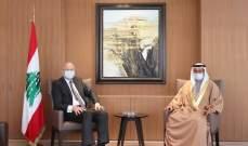 ميقاتي التقى الشامسي شاكرا للامارات وقوفها المستمر الى جانب لبنان