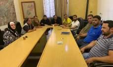 نقابة عمال بلديات البقاع دعت للاضراب الأربعاء المقبل إحتجاجا على عدم قبض رواتبهم