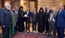 بري يستقبل مجموعة عمل العلاقات الدينية الروسية والصندوق الكويتي للتنمية