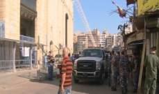 إزالة مخالفات وحملة نظافة في الغبيري بالتعاون بين البلدية ومحافظة بيروت