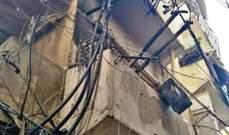 إخماد حريق داخل حافلة في زحلة وآخر بأسلاك كهربائية امتد ليطال شقة في النبعة
