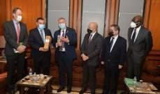 اللجنة الفرنكوفونية اللبنانية استقبلت وفدا من الجمعية البرلمانية الفركوفونية