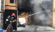 النشرة: اخماد الحريق الذي اندلع في احد الشقق السكنية في صيدا