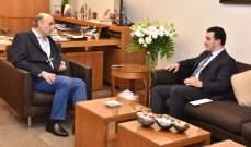 جعجع التقى رئيس حركة مستقلون رازي الحاج