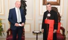 سفير ألمانيا بلبنان: فكرة الحياد التي أطلقها الراعي تهمنا ويجب متابعة النقاش بهذا الشأن
