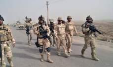 القوات العراقية تضبط أسلحة وعبوات ناسفة في بغداد وبابل