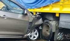 وفاة سائق بحادث سير على طريق كفرحونة
