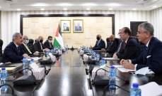 اشتية التقى مالباس: المجتمع الدولي يعمل معنا لتجسيد إقامة الدولة الفلسطينية وإسرائيل تعمل على تدمير هذه الجهود