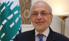 شهيب: اعادة اعمار سوريا ليست على حساب عين دارة او لبنان