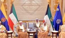 أمير الكويت بحث مع وزير الخارجية العماني العلاقات الثنائية وسبل دعمها