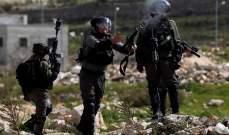الجيش الاسرائيلي يعتقل 12 فلسطينيًا في الضفة الغربية