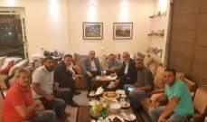 هاشم التقى وفدا من اصحاب المولدات: لا يجوز زيادة الأعباء الضريبية