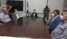 """وفد من """"آل شومان"""" زار محافظ بعلبك الهرمل لتقديم الاعتذار عن الإساءة بحقه"""