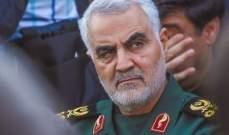 ايران تطلق إسم قاسم سليماني على معبر حدودي مع العراق