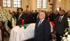المطران عبد الساتر ترأس جنازة جوزيف ابو خليل في كنيسة مار يوسف في الاشرفية