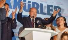 رئيس شمال قبرص التركية هدد بالتخلي عن فكرة توحيد شطري جزيرة قبرص وطرح حل الدولتين