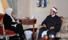 الحريري تابعت أزمتي الكهرباء والمياه بصيدا واستقبلت قنصل فلسطين في جدة