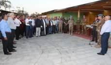 """الكتيبة الإيطالية في """"اليونيفيل"""" نظمت لقاء لرؤساء بلديات صور في شمع"""