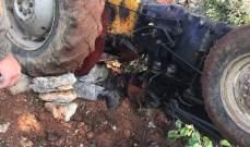 وفاة مواطن من بلدة بيت ملات جراء انقلاب الجرار الزراعي الذي كان يقوده