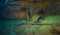 العثور على سفينة غرقت في الحرب العالمية الثانية