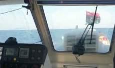 الجيش الوطني الليبي يعلن جر سفينة تركية الى ميناء رأس الهلال شرقي ليبيا