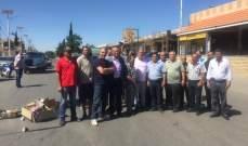 أهالي النبي عثمان قطعوا الطريق الدولية احتجاجا على قرار تجميد بلديتهم
