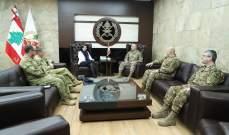 قائد الجيش التقى سفيرة استراليا والملحق العسكري الجديد