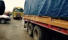 مركز المصالحة الروسي: توزيع 47 طنا من المساعدات الإنسانية إلى سوريا خلال أسبوع واحد