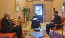 وزير خارجية الفاتيكان وعد حتي بمساعدة لبنان وايجاد الحلول المناسبة مع الشركاء الدوليين