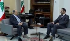 عطالله التقى الرئيس عون:عرضنا مراحل تنفيذ خطة الوزارة لعودة المهجرين