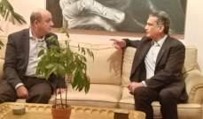 سفير تركيا زار الأحدب: سنعمل على التوأمة بين بلدية غازي عنتاب وبلدية طرابلس