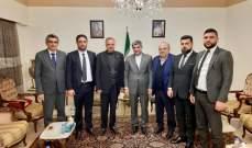 ارسلان زار السفارة الإيرانية معزيا بسليماني: ما حصل سيكون نقطة انطلاق قويّة باتجاه انتصار محور المقاومة