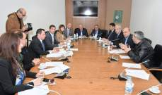 لجنة البيئة عقدت اجتماعا للاطلاع على التقرير بشأن وجود نفايات اسرائيلية خطيرة على الساحل الجنوبي