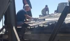 النشرة: إندلاع حريق في إحدى المزارع في تعنايل والدفاع المدني يعمل على إخماده