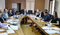 النشرة: اللجنة الفرعية المكلفة درس قوانين اللامركزية الادارية تناقش تأمين الموارد المالية للمشاريع