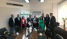 توقيع مذكرة تفاهم بين زمكحل وجمعية رجال الأعمال اللبنانيين البلغاريين