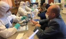 النشرة: وصول 4 عيادات طبية نقالة إلى زحلة وإجراء فحوصات كورونا لحوالى 200 شخص