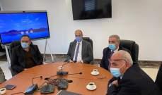 هاشم شكر حسن على قرار انشاء لجنة مستشفى شبعا الحكومي