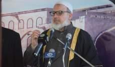 الشيخ خطاب يستبعد ارتباط المجموعات بعين الحلوة بتنظيم داعش بالجرود