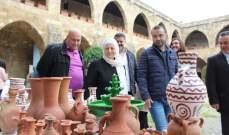 وزير الثقافة بدأ جولته على فعاليات ليلة المتاحف من صيدا برفقة النائب الحريري