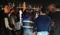 النشرة: وفاة شخص بحادث صدم على طريق حسبة صيدا