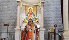 المطران سفر إحتفل بعيد البشارة في كنيسة السيدة العذراء في زحلة